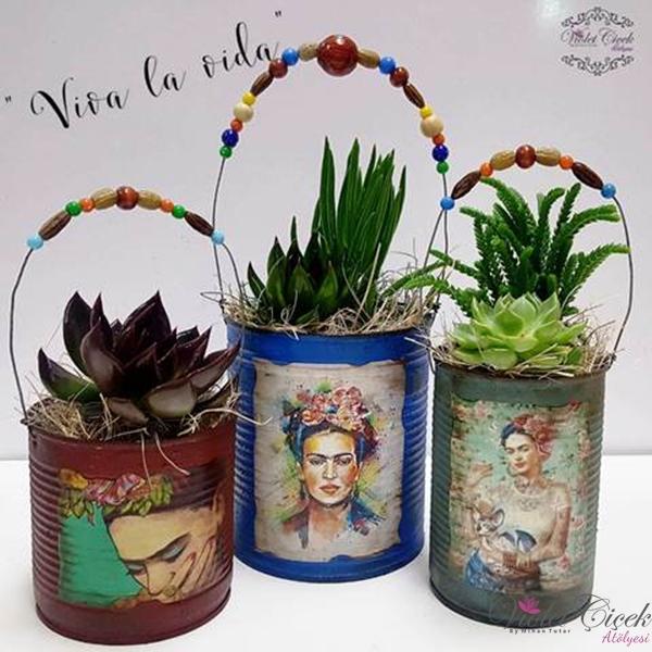 Üçlü Frida Özel Çalışma