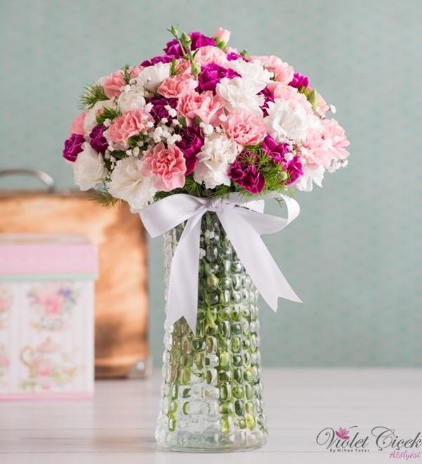 Karışık Çiçek Aranjmanı